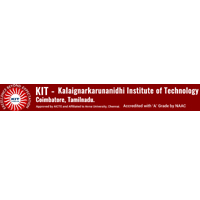 KIT KalaignarKarunanidhi Institute of Technology logo
