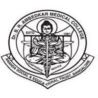 Dr B R Ambedkar Medical College logo