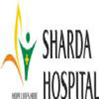 Sharda Hospital logo