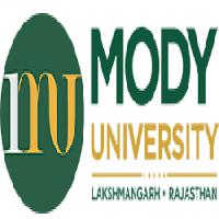 Mody University logo