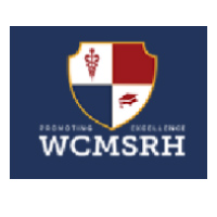 WCMSRH World College of Medical Sciences Research and Hospital logo