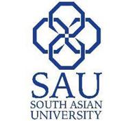 South Asian University logo