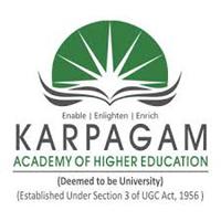 Karpagam Academy of Higher Education logo